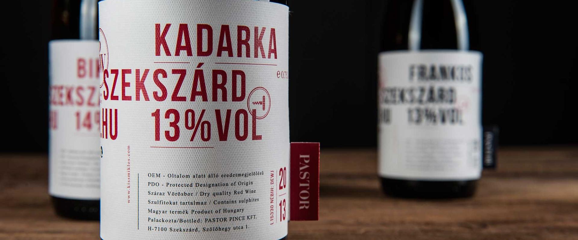Vagány <br>borok<br>Szekszárdról